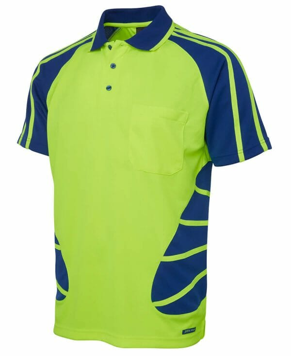 Spider Short Sleeve Polo Yellow