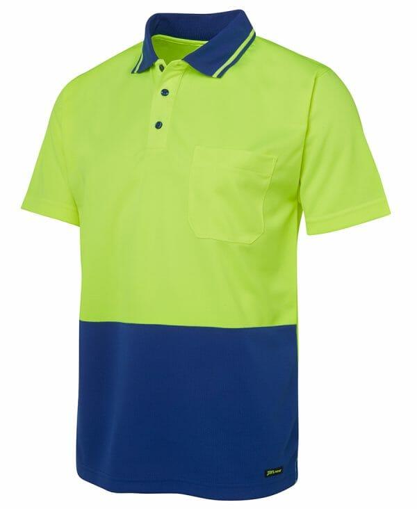 6HVNC HiVis Short Sleeve Polo Shirt
