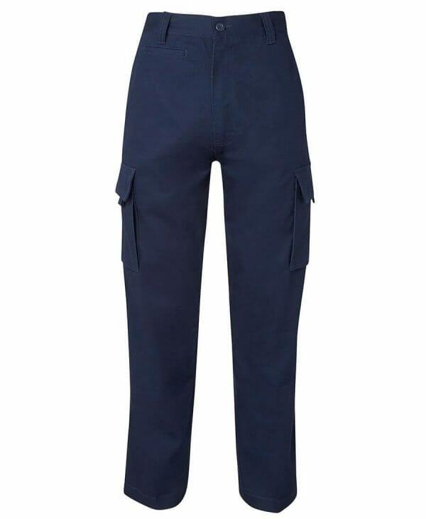 Cotton Drill Cargo Trousers