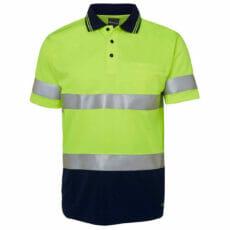 6HVST HiVis Short Sleeve Polo Shirt