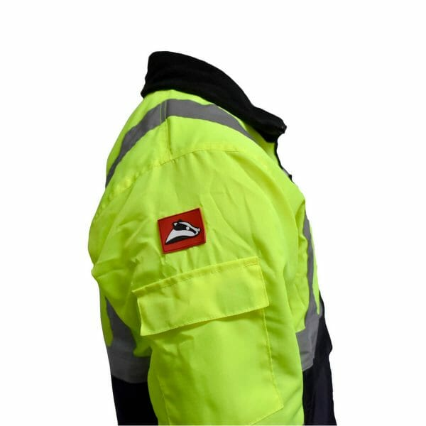 Sub zero industry hi vis jacket - side on