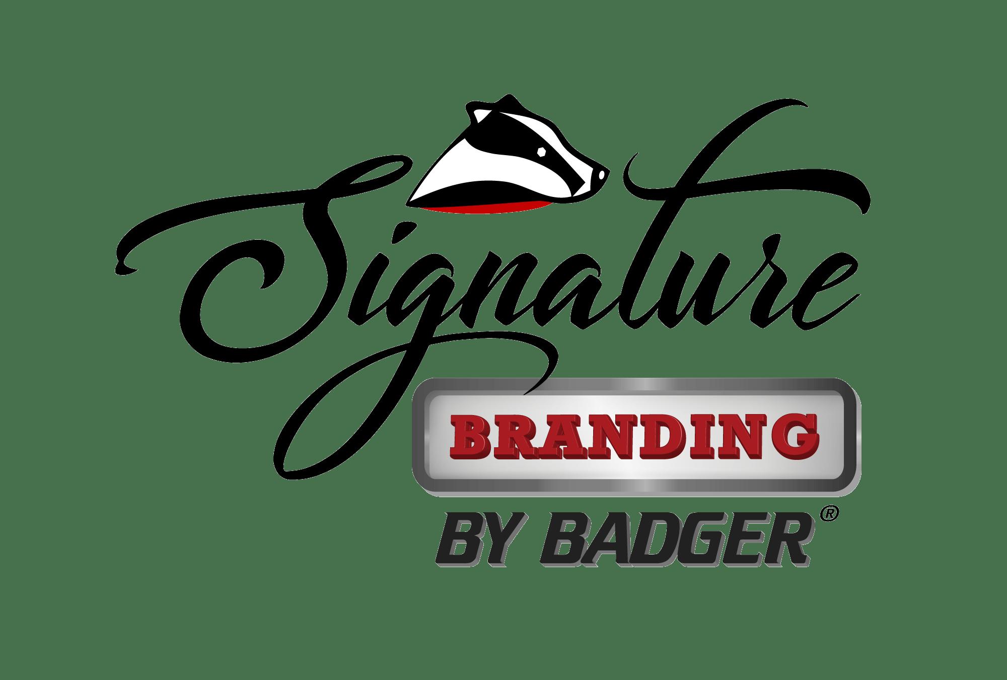 Signature Branding Washing Instructions