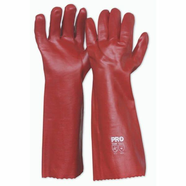 Pro-Choice PVC Chemical Gloves - 45cm