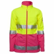 JB's 6D4J1 Ladies HiVis Softshell (D+N) Jacket