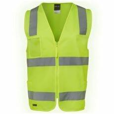 Safety Vest with Zipper & ID Pocket