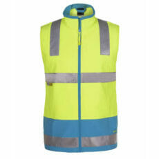 JB's 6D4LK Waterproof HiVis Softshell Warm Safety Vest