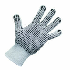 Polka Dot PolyCotton Knitted Glove - 12pack