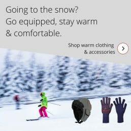 Going to the snow_Go equipped, stay warm & comfortable.