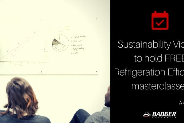 Sustainability Victoria to hold free Refrigeration Efficiency masterclass's
