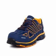 Mack Vision Safety Shoes -NavyOrange.Oblique