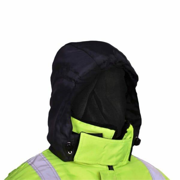 FH750 badger freezer jacket hood
