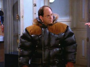 big bulky freezer jacket