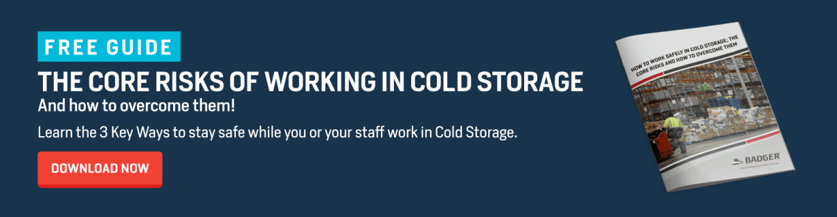 CTA how to stay safe in cold storage