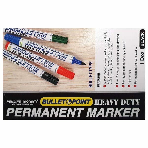Penline Permanent Marker Box